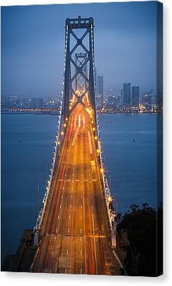 San Francisco - Oakland Bay Bridge Canvas Print
