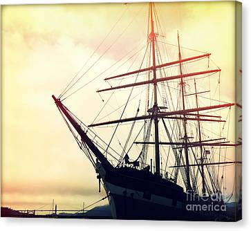 San Francisco Ship I Canvas Print by Chris Andruskiewicz