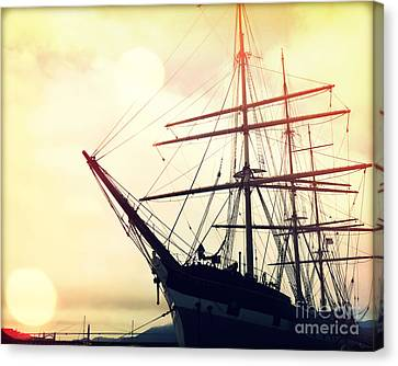 San Francisco Ship II Canvas Print by Chris Andruskiewicz