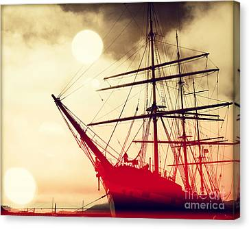 San Francisco Ship IIII Canvas Print by Chris Andruskiewicz