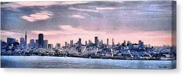 San Francisco Shoreline Canvas Print