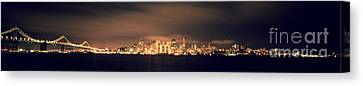 San Francisco Skyline Canvas Print by Ron Smith