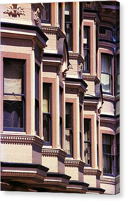 Canvas Print featuring the photograph San Francisco Sunshine  by Ira Shander