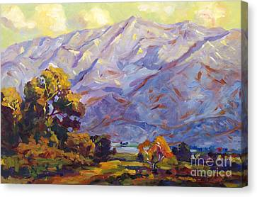 Gabriel Canvas Print - San Gabriel Mountains by David Lloyd Glover