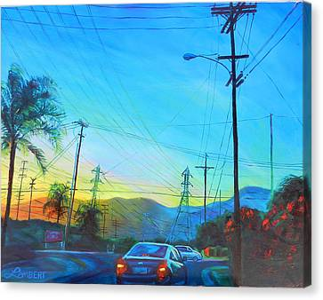 San Gabriel Rush Canvas Print