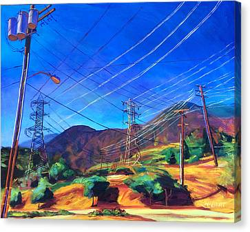 San Gabriel Power Canvas Print