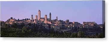 San Gimignano, Tuscany, Italy Canvas Print by Panoramic Images
