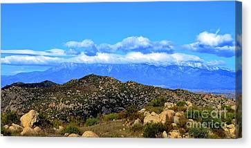 San Gorgonio Snow Cap Canvas Print