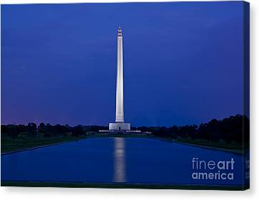 San Jacinto Monument Canvas Print