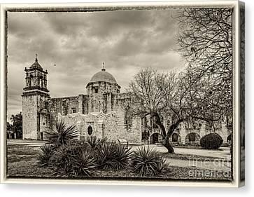 San Jose Historical Mission In San Antonio Texas Canvas Print