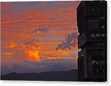 San Jose Sunset Canvas Print