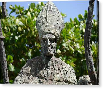 San Juan - La Rogativa Bishop II Canvas Print by Richard Reeve