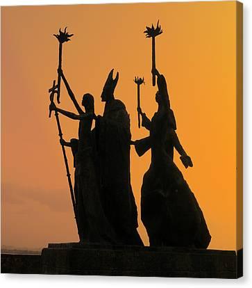 San Juan - La Rogativa Sunset Canvas Print by Richard Reeve