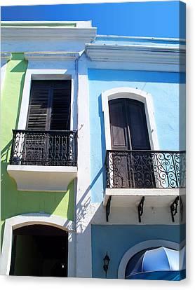 San Juan Balconies Canvas Print by Rod Seel