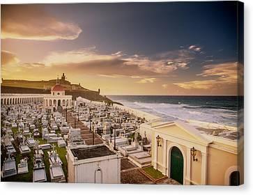 San Juan-puerto Rico- Castillo San Felipe Del Morro Canvas Print by Eti Reid