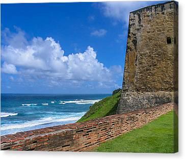 San Juan Puerto Rico  Canvas Print by Trace Kittrell