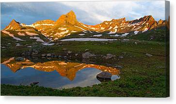 San Juan Sunrise - Colorado  Canvas Print by Aaron Spong