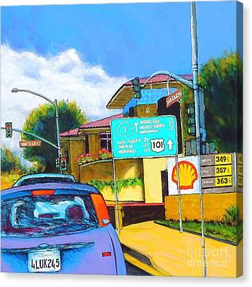 San Luis Obispo Ca Canvas Print