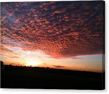 Canvas Print featuring the photograph San Marcos Sunrise by David  Norman