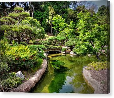 San Marino - Huntington Botanical Gardens 004 Canvas Print by Lance Vaughn