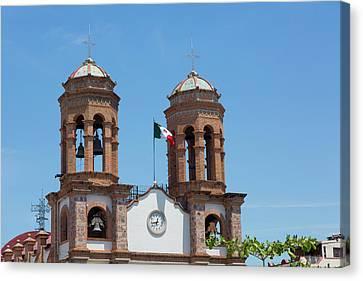 San Miguel Archangel Church, El Canvas Print by Douglas Peebles