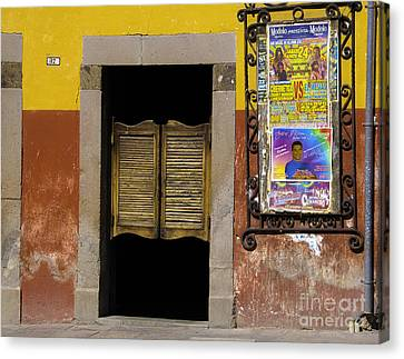 San Miguel Colorful Bar Canvas Print by Susie Blauser