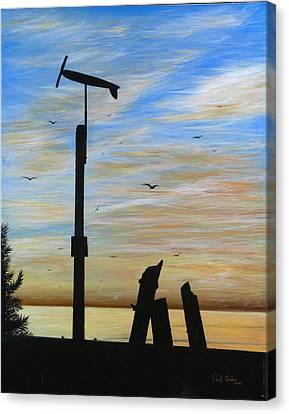 San Onofre Sunrise Canvas Print by Paul Carter