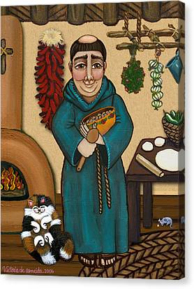 Celebrated Canvas Print - San Pascual by Victoria De Almeida