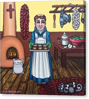 San Pascuals Empanaditas Canvas Print