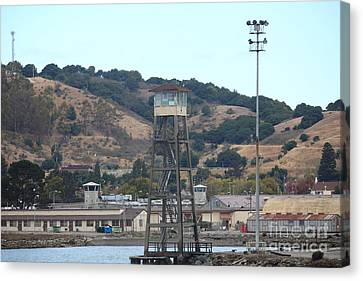 San Quentin Prison In Marin County California 5d29357 Canvas Print by Wingsdomain Art and Photography