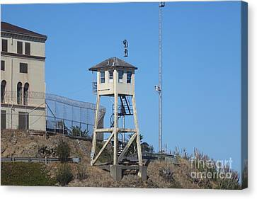 San Quentin Prison In Marin County California 5d29481 Canvas Print by Wingsdomain Art and Photography