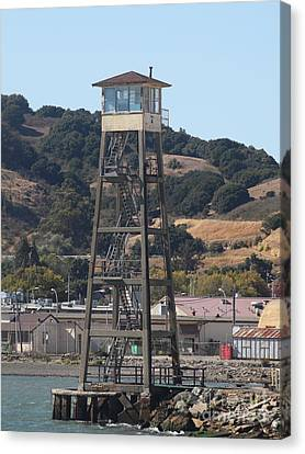 San Quentin Prison In Marin County California 5d29483 Canvas Print by Wingsdomain Art and Photography