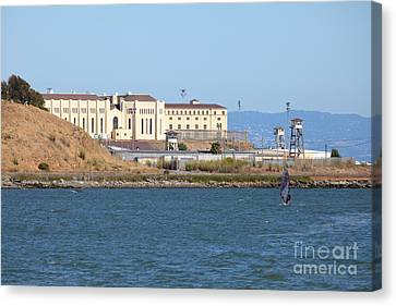 San Quentin Prison In Marin County California 5d29489 Canvas Print by Wingsdomain Art and Photography