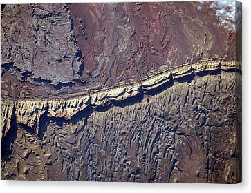 San Rafael Swell Canvas Print - San Rafael Reef by Nasa