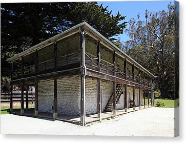 Sanchez Adobe Pacifica California 5d22642 Canvas Print by Wingsdomain Art and Photography