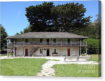 Sanchez Adobe Pacifica California 5d22644 Canvas Print by Wingsdomain Art and Photography