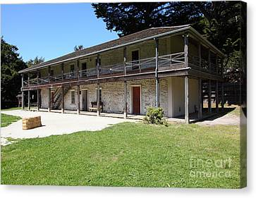 Sanchez Adobe Pacifica California 5d22647 Canvas Print by Wingsdomain Art and Photography
