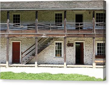 Sanchez Adobe Pacifica California 5d22655 Canvas Print by Wingsdomain Art and Photography