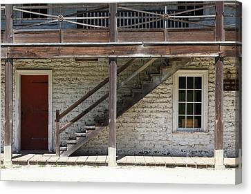 Sanchez Adobe Pacifica California 5d22656 Canvas Print by Wingsdomain Art and Photography