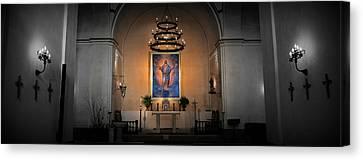 Sanctuary 4 -- Mission Concepcion Canvas Print