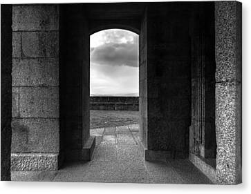 Canvas Print featuring the photograph Sanctuary by Edgar Laureano