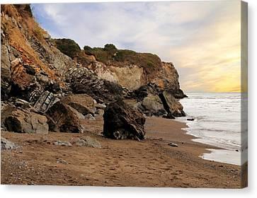Sand And Rocks Canvas Print