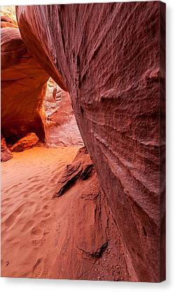 Canvas Print featuring the photograph Sand Dune Arch by Jay Stockhaus