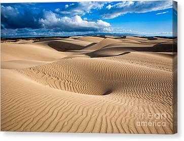 Sand Dune Vortex Canvas Print