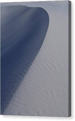 Sand Dunes At White Sands National Monument Canvas Print by Jetson Nguyen