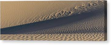 Sand Dunes In A Desert, Eureka Dunes Canvas Print by Panoramic Images