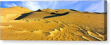 Great Sand Dunes National Park Canvas Print - Sand Dunes In A Desert, Great Sand by Panoramic Images