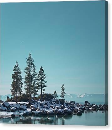 Sand Harbor-lake Tahoe Canvas Print by Kim Hojnacki
