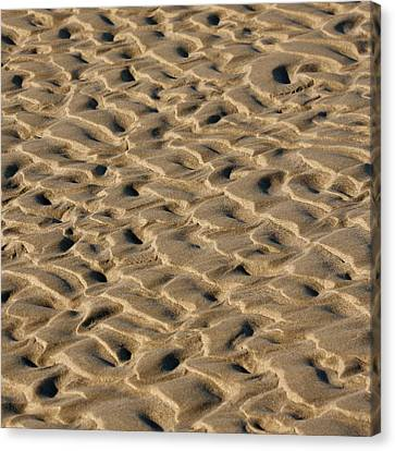 Sand Patterns Canvas Print by Art Block Collections