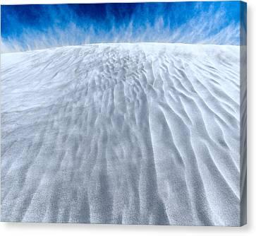 Sand Storm On The Horizon Canvas Print